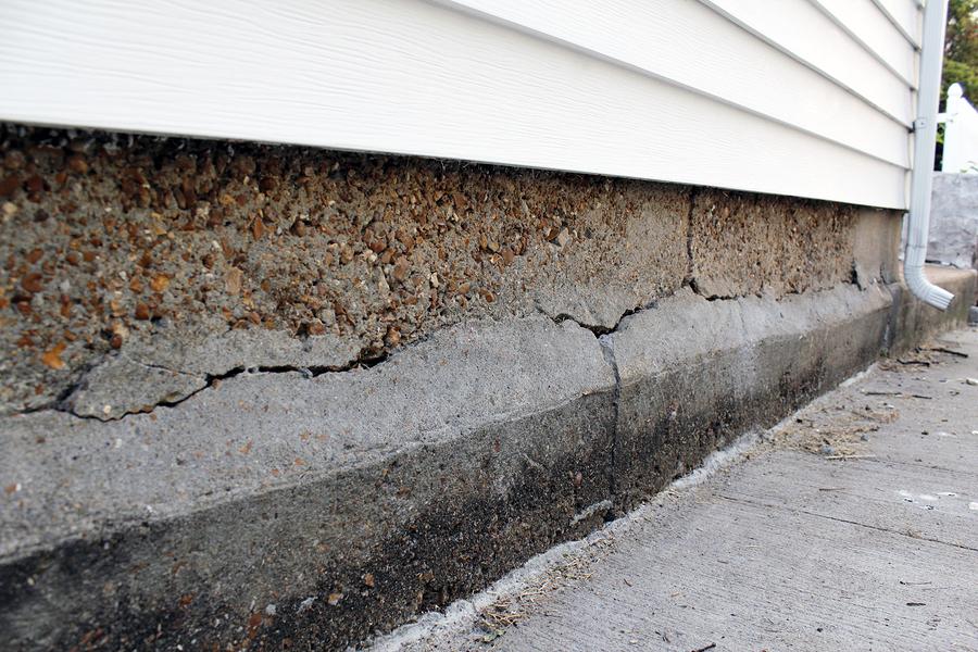 Exterior Wall Damage